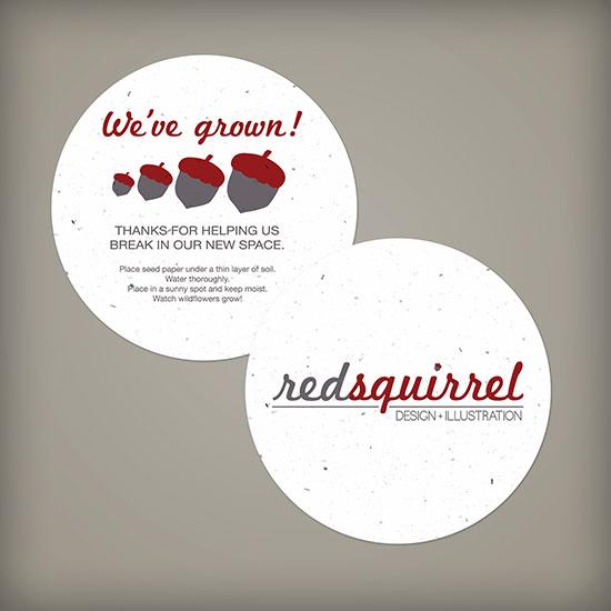 Medium Seed Paper Circle Coasters