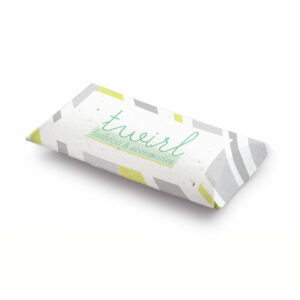 Seed Paper Pillow Boxes