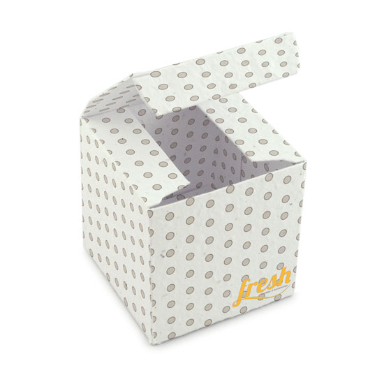 Seed Paper Small Square Boxes