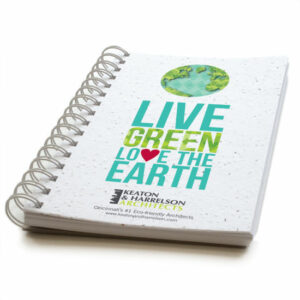 Love the Earth Personalized Plantable Journals