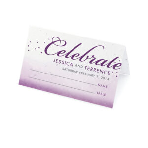 Celebrate Ombre Plantable Place Cards