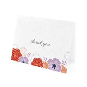 Bloom Seed Thank You Cards