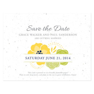 Bloom Seed Save The Dates
