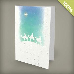 Les Trois Rois Personalized Cards