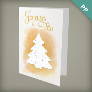 Sapin de Noël Personalized Cards