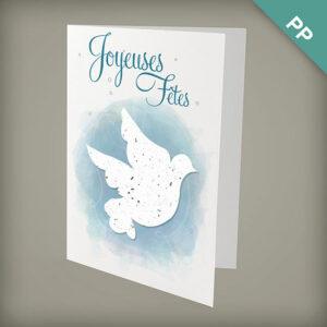 La Colombe Joyeux Noël Personalized Cards