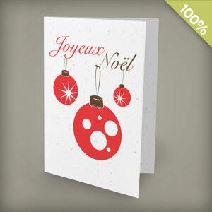 Joyeux Noël Personalized Cards