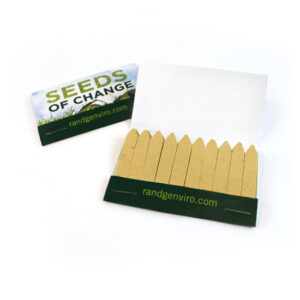 Large Seed Paper Matchbooks, Single-Sided