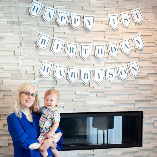 Custom Plantable & Eco-friendly Party Banner Bunting