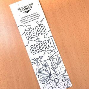 Color Me Plantable Bookmark