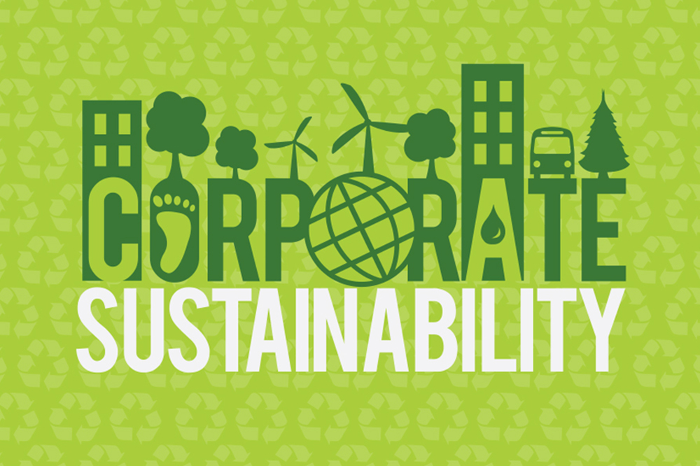 Corporate Sustainability Graphic