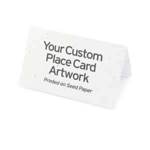 Custom Plantable Place Cards