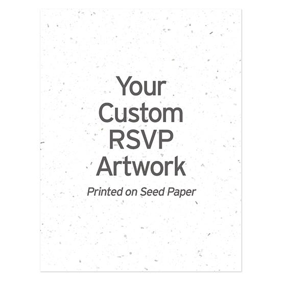 Custom Plantable Reply Cards