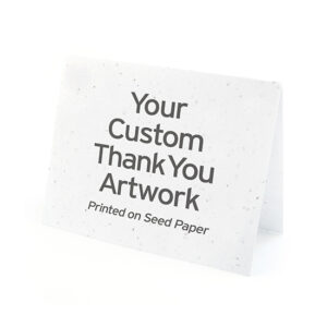 Custom Plantable Thank You Cards