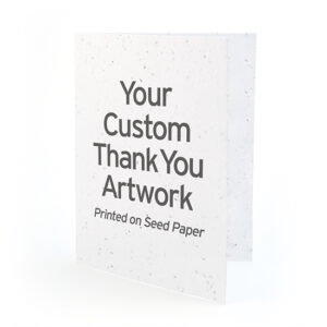 Vertical Thank You Card