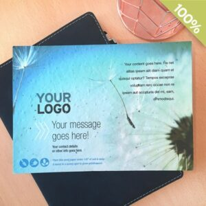 Send a message that grows with ready-to-order seed paper cards.