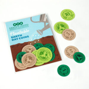 These Earth Day Coin Packs are a fun way to celebrate the planet during Earth Month!