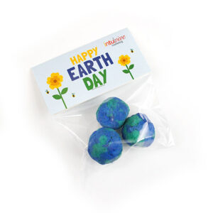Give and grow tons of wildflowers that will create habitats for important pollinators this Earth Day with these fun Earth Day Seed Bombs Cellopack 3!