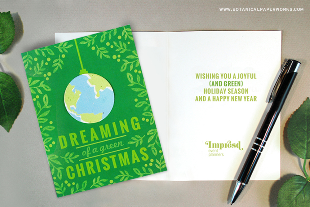 Eco-friendly Business Holiday Cards