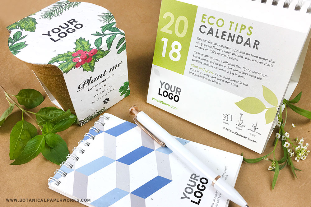 eco-friendly seed paper corporate gifts