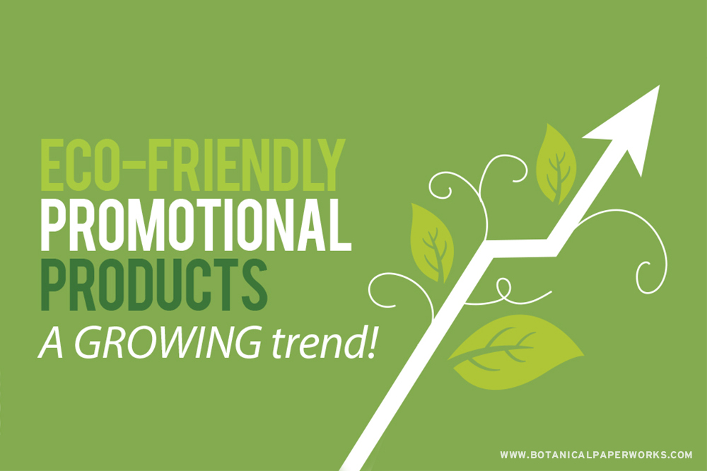 If you've considered going green with your branding, now is the time! Find out why eco-friendly promotional products are so important for the industry.