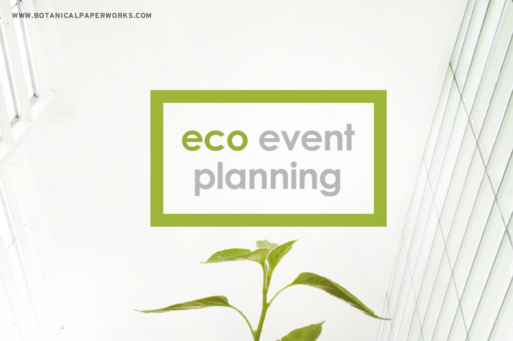 5 Ideas for Eco-Friendly Events