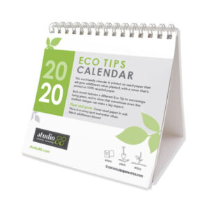 Eco Tips Plantable Seed Calendars