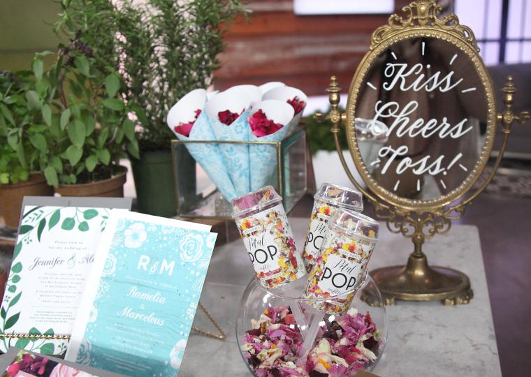eco-friendly wedding products