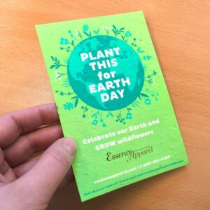 Flourishing Earth Medium Seed Paper Panel Card