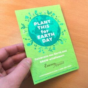 Flourishing Earth Medium Seed Paper Panel Card