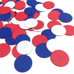 This Fourth of July Party Plantable Eco Confetti grows wildflowers!