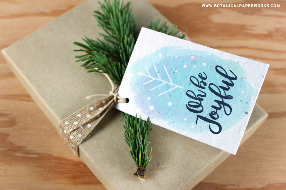 Free Printable Eco-Friendly Gift Wrapping Tags