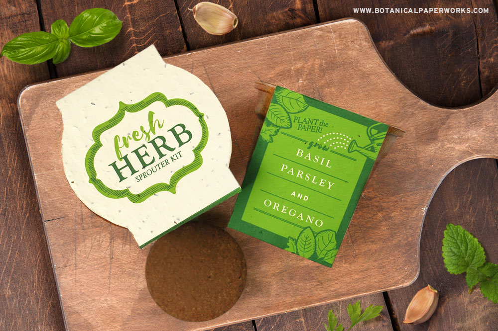 Fresh Herb Sprouter Kits