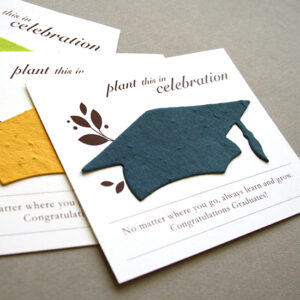 Graduation plantable seed favors