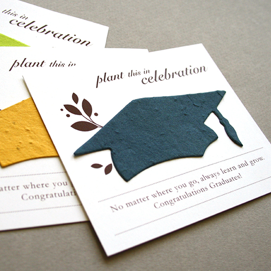 Graduation plantable seed favors