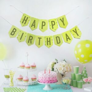 Celebrate their birthday in a big way by giving the birthday boy or a girl the gift of wildflowers with this Plantable & Eco-friendly Party Banner Bunting: Happy Birthday.