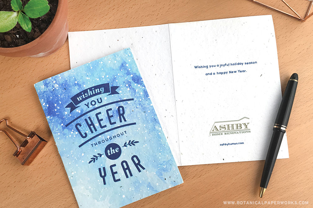 business holiday greeting card