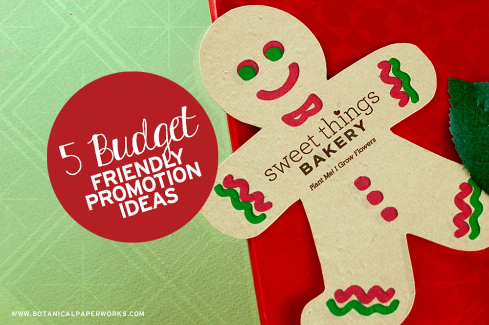Budget friendly promotional products for the holidays