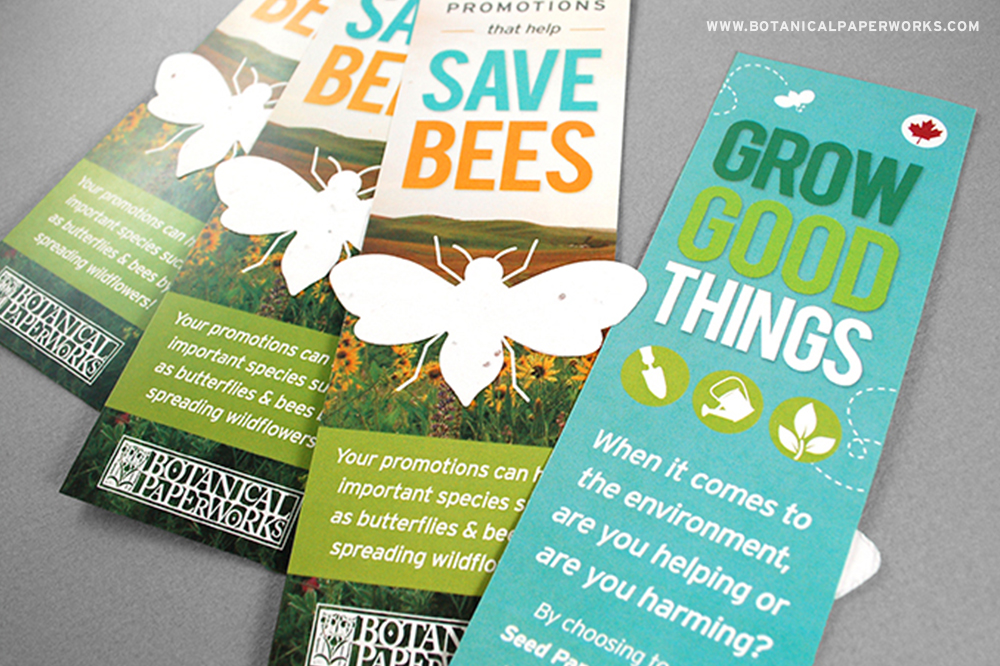 plantable seed paper products that help save the bees wins PPPC award