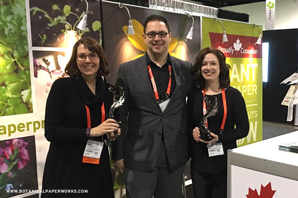 Botanical PaperWorks Staff at 2016 PPPC Image Awards