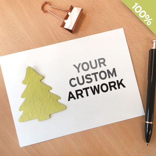 Large Eco Panel Card With Shape