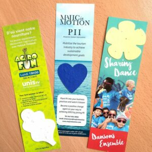 Large Eco Bookmark With Shape