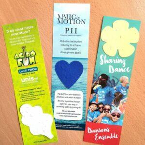 Large Eco Bookmark With Shape