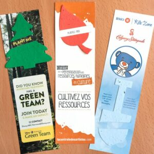 Large Eco Bookmark with Slot