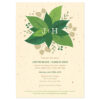 These Lush Greenery Plantable Wedding Invitations are made from post-consumer material and NON-GMO seeds. You'll love that your wedding invitations will spread only beauty and won't create any waste.