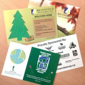 Eco Panel Card With Shape