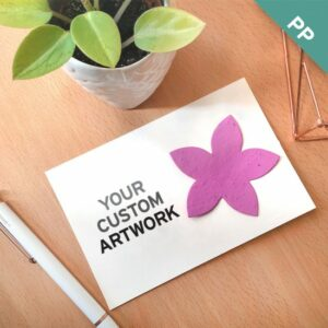 Medium Eco Panel Cards with Shape