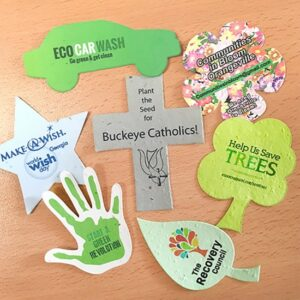 Medium Die-Cuts - Printed Single Sided