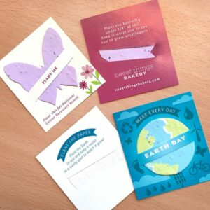 These eco-friendly Mini Slot Cards are a pocket and wallet-friendly size but they send a big message for your business!