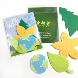 Double-Sided Nature Mix Seed Paper Shape Pack